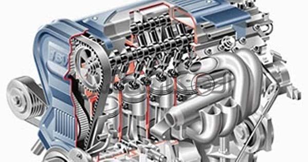 موتور DOHC مخفف Double Over Head Camshaft چیست؟ کارشناسی خودرو الوکارشناس Multi Valve