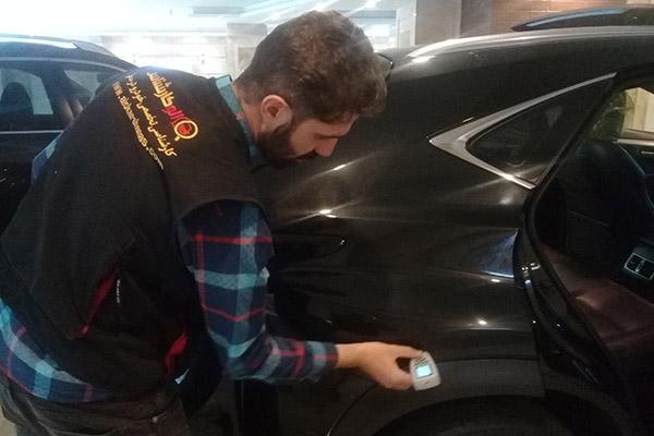 داوود اميري کارشناس تشخیص رنگ خودرو شرکت الوکارشناس