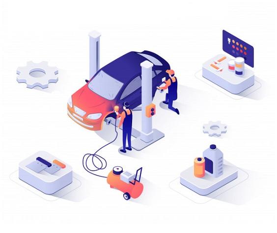مراحل کارشناسی خودرو الو کارشناس