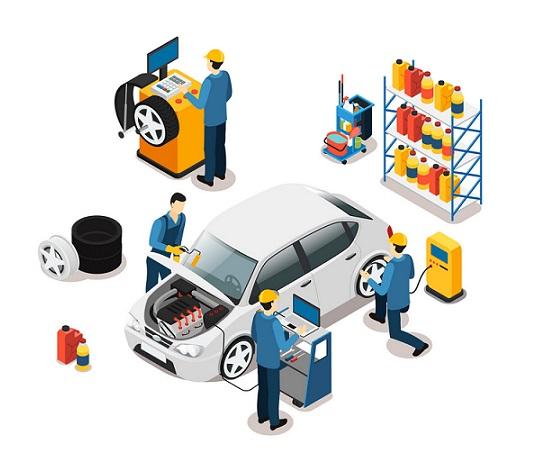 تجهیزات کارشناسی خودرو در الو کارشناس